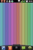 Screenshot of Simple Stripes Live Wallpaper