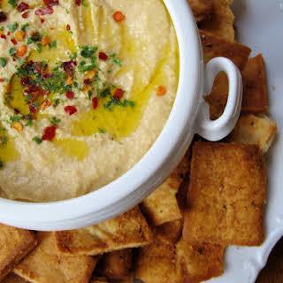 Copycat Trader Joe's Mediterranean Hummus.
