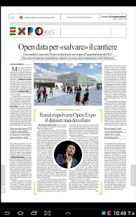 Corriere delle Comunicazioni - screenshot thumbnail