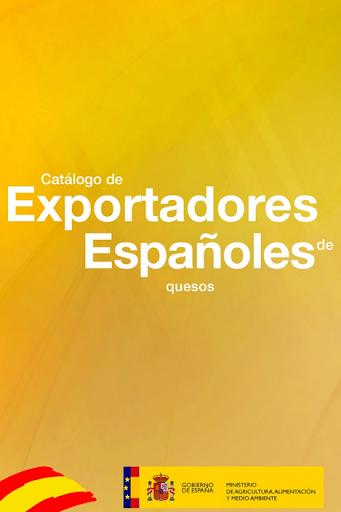 Exportadores quesos