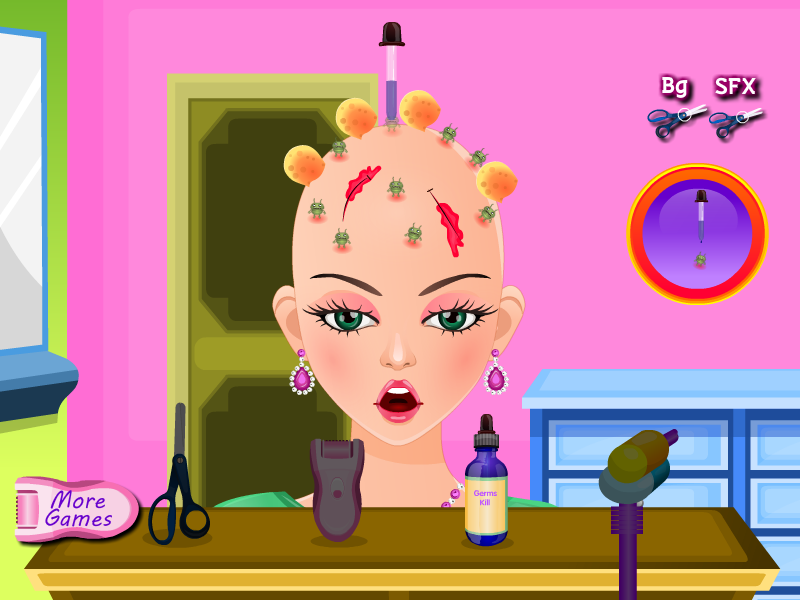 Gritty Hair Hospital Treatment- screenshot
