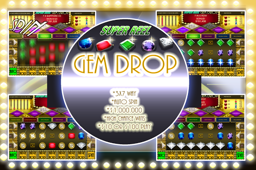 Gem Drop Match 3 Jewel Slots