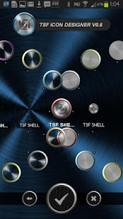 TSF Shell Theme Metal HD- screenshot thumbnail