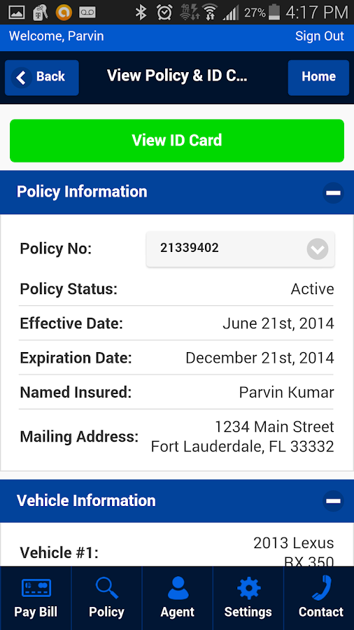 United Automobile Insurance Co- screenshot