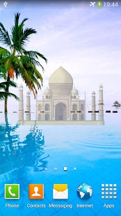 Magic Taj Mahal Live Wallpaper