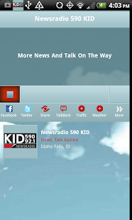 Newsradio 590, 1240, 92.1FM- screenshot thumbnail