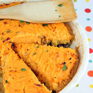 Southwestern Sweet Potato Shepherd's Pie