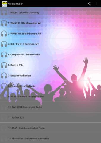 玩免費音樂APP|下載College Radio app不用錢|硬是要APP