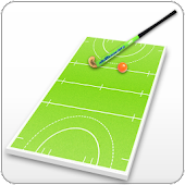 Field hockey coach's clipboard