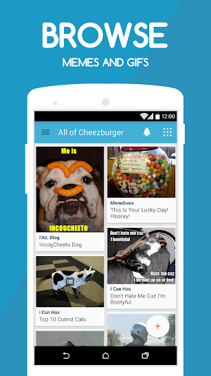 Cheezburger screenshot for Android