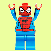 Lego spider faces find game