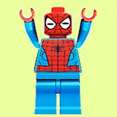 Lego spider faces find game