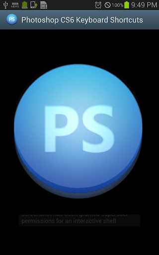 PS CS6 Keyboard Shortcuts Pro