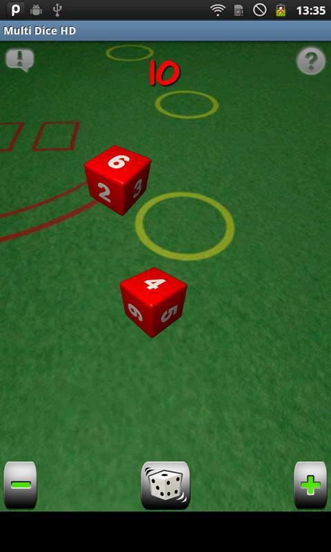 Multi Dice HD - screenshot