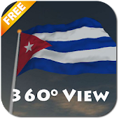 Real Cuba Flag Live Wallpaper
