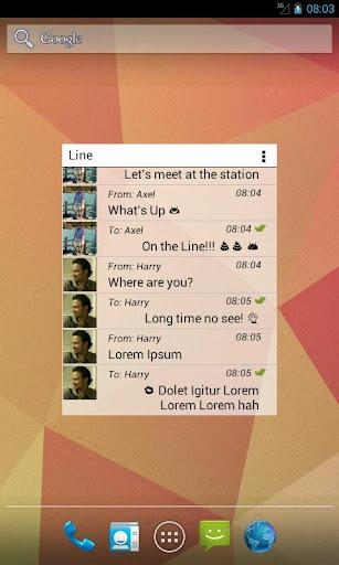 玩通訊App|Widget for LINE™  閉塞除去免費|APP試玩