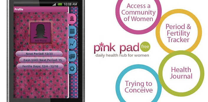 Pink Pad Free (Period Tracker) v1.4.1