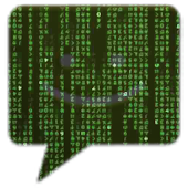 Matrix Go SMS Theme