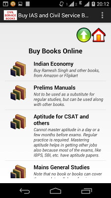 IAS Books Store - screenshot