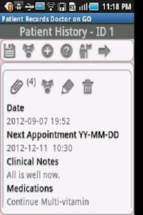 Patient Records Doctor ON GO - screenshot thumbnail