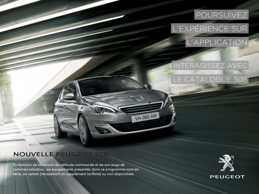 Nouvelle Peugeot 308 - screenshot
