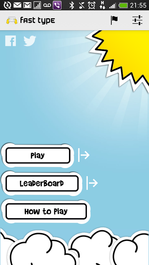 Fast Type - Keyboard Training - screenshot