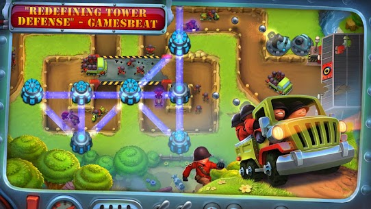 Fieldrunners 2 Mod 1.7 Apk [Unlimited Money] 1