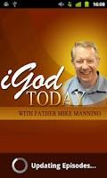 Screenshot of iGod Today – Fr. Mike Manning