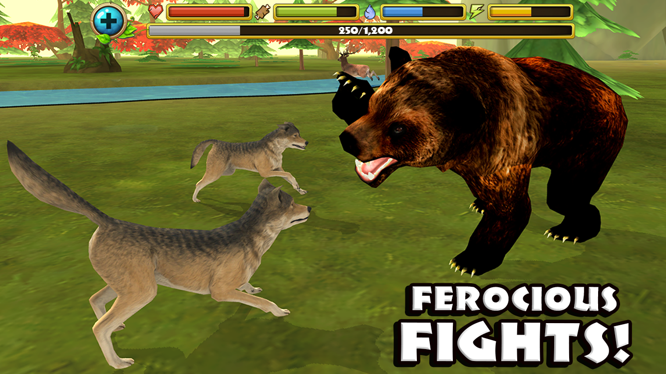 free wolf game