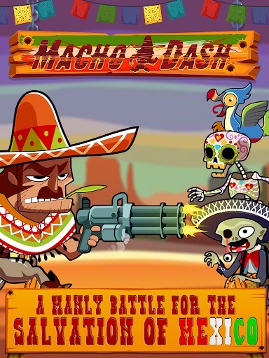 Macho Dash - Shooting Action (Unlimited Coins/Ads Free)