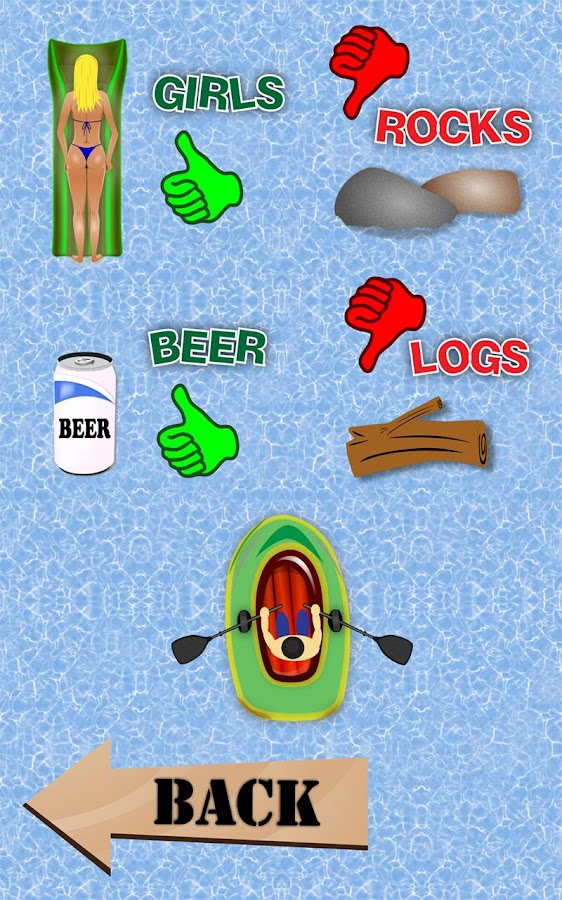 Beer Chase Doodle Race - Boats - screenshot
