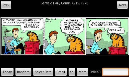 Garfield Daily- screenshot thumbnail