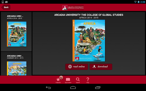 ArcadiaAbroad - screenshot thumbnail