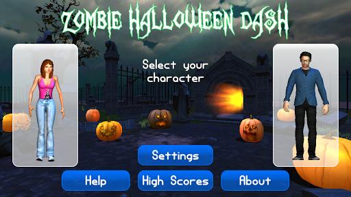 Zombie Halloween Dash