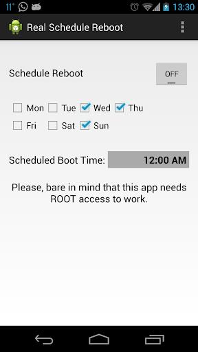 Real FAST Schedule Reboot Lite