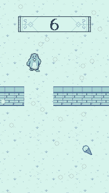 Pixel Penguin- screenshot