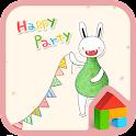Bibi(happy party)Dodol Theme