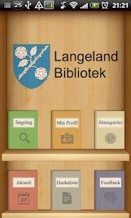 Langeland Bibliotek- screenshot thumbnail