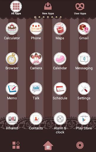 Chic Wallpaper Chocolate Rose 1.1 Windows u7528 2