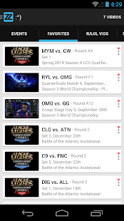 zzReal: VODs League of Legends - screenshot thumbnail