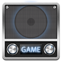 Game radio 8-bit music icon