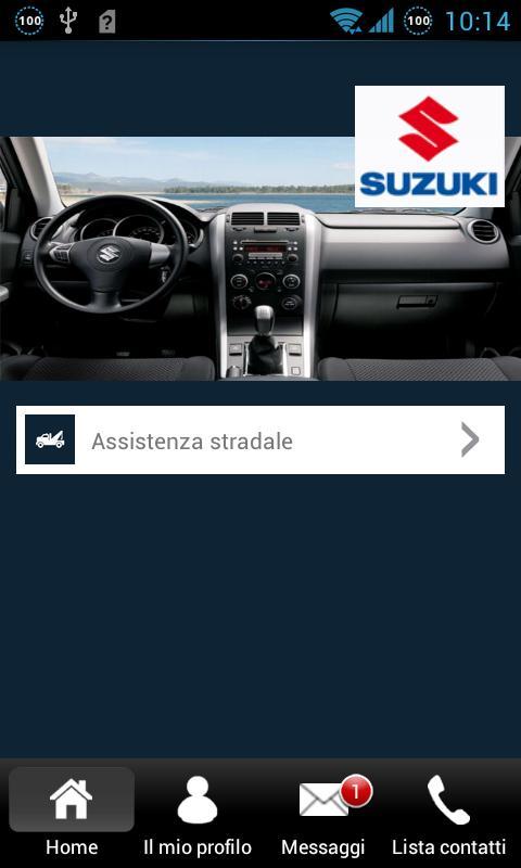 SUZUKI ROAD ASSISTANCE- screenshot