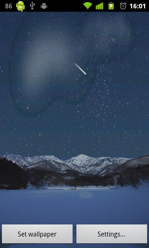 Nightfall Live Wallpaper- screenshot