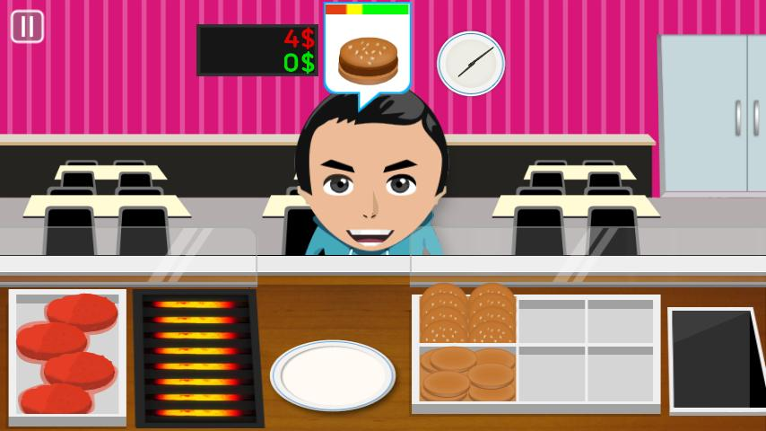Junior Burger - Cooking game - screenshot