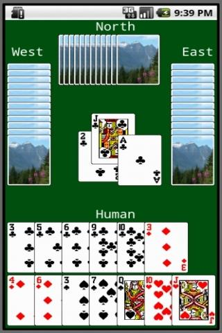 Hearts Card Game (JDHearts) - screenshot