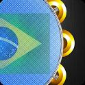Pandeiro Tambourine Brazil icon
