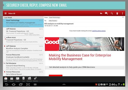 Good for Enterprise™ - screenshot thumbnail