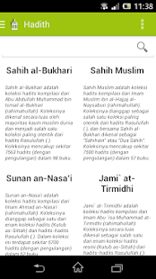 Hadits 4 Imam