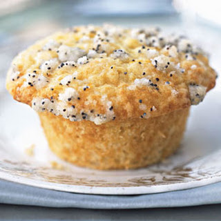 Sour Cream Muffins with Poppy Seed Streusel.