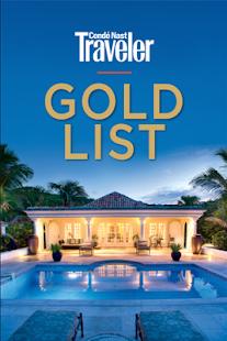 Condé Nast Traveler Gold List - screenshot thumbnail